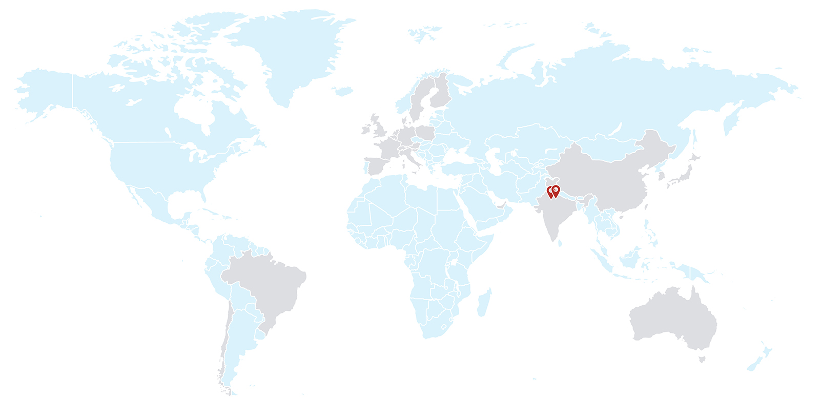 World Map - Fidelity International is present in 26 countries