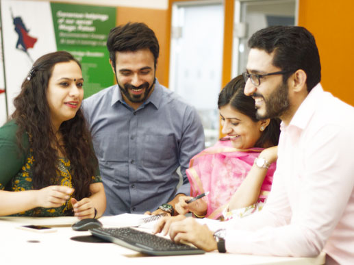 Collaboration at Fidelity International in India